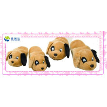 Cute Plush Dog Toy Room Slipper