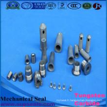 Bague d'étanchéité mécanique adaptée aux besoins du client par carbure de tungstène / joints