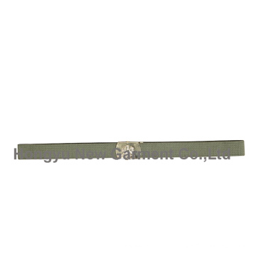 Ceinture en tissu de taille militaire en polyester pour homme (HY-WB013)