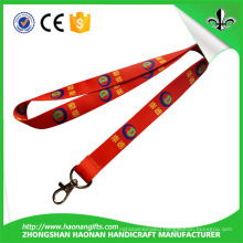 20*900mm Silk Printing Metal Hook Coolest Lanyards