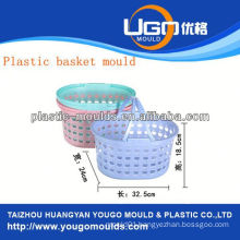 plastic injection fruit basket mould injection basket mould in taizhou zhejiang china