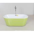 Green Shirt Oval Freestanding Bathtub