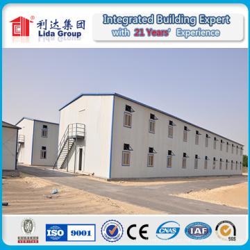 Casa prefabricada de bajo costo con certificación