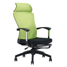 Whole-sale price Armrest chair office swivel chair adjustable height black
