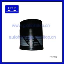 Filtro de aceite 90915-30002 para Toyota para el práctico de costa