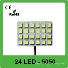 12V luz de substituição luz do telhado do carro do diodo emissor de luz