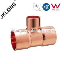 J9101 Cobre ajustando / cobre o T do redutor