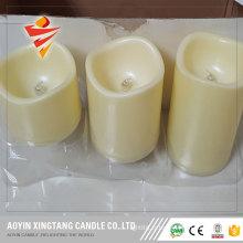 Bougies à LED avec bougies sans flamme vacillantes et scintillantes