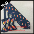 Mens Wholesale Chinese 100% Silk Jacquard Woven Custom Logo Neckties