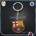 New design custom FC football club soft enamel zinc alloy metal key chain