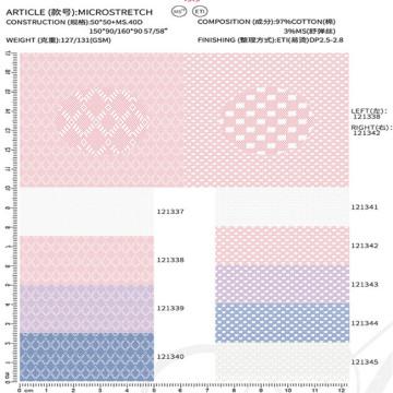 Baumwollgewebe Textilmaterial Stoff chinesischer Lieferant