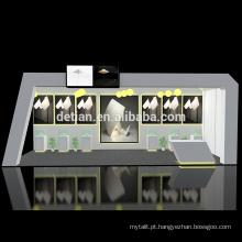 Projetos de suporte de cabine de exposição de madeira modular portátil de oferta de Detian
