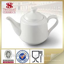 Tetera real fina al por mayor del té de la tolerancia de la porcelana, tetera de té turca