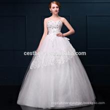 O último design de vestidos de casamento de alta qualidade para meninas senhoras e mulheres
