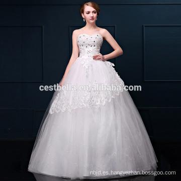 Los últimos vestidos de boda de la alta calidad del diseño para las señoras de las muchachas y la mujer