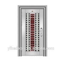 2015 фошань сделал дизайн наружной стали безопасности пуленепробиваемые входная дверь 304SS дверь для ворот и безопасности дверь