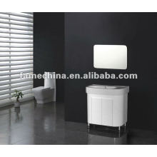 Hot Sell gabinete de banheiro moderno gabinete redondo em PVC