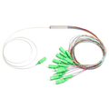 Divisor óptico del PLC de la fibra de acero del tubo del 1:16