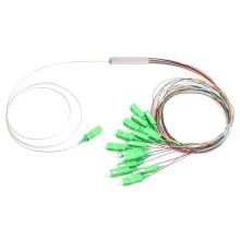 Divisor ótico do PLC da fibra do tubo do aço 1:16