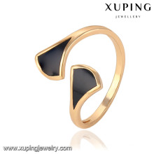 13777 xuping fashion new designed finger 18k gold rings