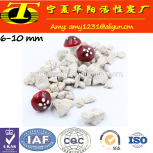 Tratamento de água de zeólito granular de clinoptilolite natural