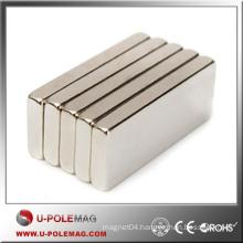 Wholesalea Block Magnet NdFeB/N50 Cube Neodymium F100x40x40mm/Neodymium Magnet Cube Supplier
