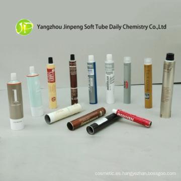 Cosmética de aluminio tubos con Offset manejo superficial