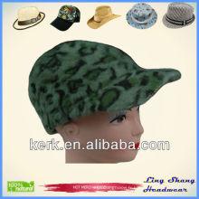 Bonne chapeau de cheveux et de laine de lapin vert Chapeau d'hiver chaude Casquette d'hiver chaude d'hiver, LSA21
