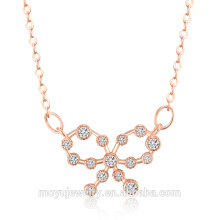 2016 Cheap fashion jewelry pure silver chain necklace custom silver necklace chain