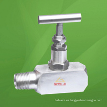 Válvula de aguja roscada FM (GAJ21W-HB)