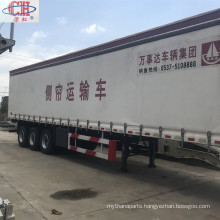 Transportation Side Open Door  Box Semi Trailer