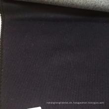 Tela de lana de alpaca de la tela de lana del crepé del color blanco de Lonbow para el abrigo de invierno