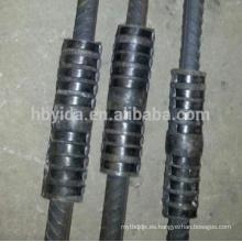 Empalme hidráulico del acoplador de agarre para conectar barras de acero