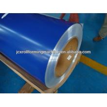 Revestimento superior 15-25um, revestimento traseiro 5-15um PPGI em bobinas