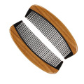 Марка КТ изготовленным на заказ логосом дома сандалового дерева Рог гребень борода
