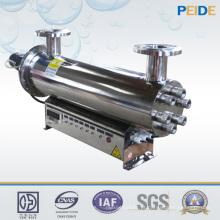 Esterilizador UV Inline para desinfecção de água de criação de água doce