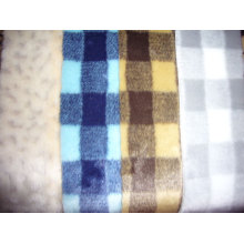 Good Quality Cnc Router price for Tops Knitting Fur Three-Color Jacquard Faux Fur supply to Bahamas Supplier