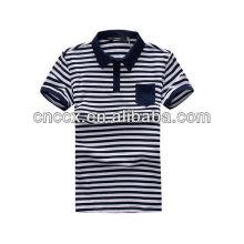 13PT1019 Neueste Mode Männer gestreiftes Polo-Shirt