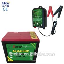 Hohe Qualität Elektrozaun 9V Batterie für Solar Elektrozaungerät