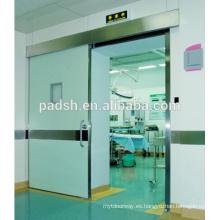Puerta automática de protección contra rayos X