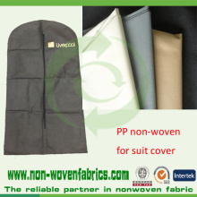 Black Non Woven Fabric for Bags and Suit Covers