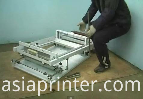 Manual Easy Operation Screen Printer