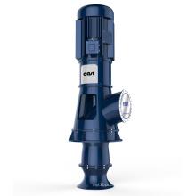 Type à pompe axiale (à écoulement mixte)