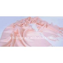 Frau Rosa 100% Wolle Twill Plain Schal