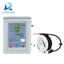 Digital petrol pump fuel dispenser with hose reel