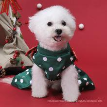 Wholesale Autumn/winter Christmas festive series dog clothes cat dress pet clothing supplies