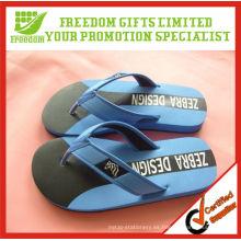 Sandalia promocional del flip-flop del logotipo del OEM