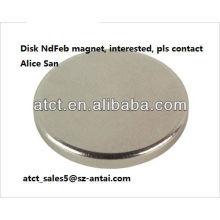 Imán de neodimio ocultos disco para el embalaje de cartón