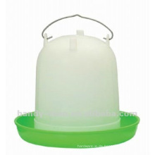 118 8L Qualität Grün Weiß Kunststoff Hülse Typ Geflügel Trinker