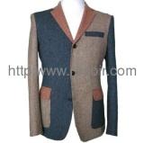 men\'s fashion wool suit